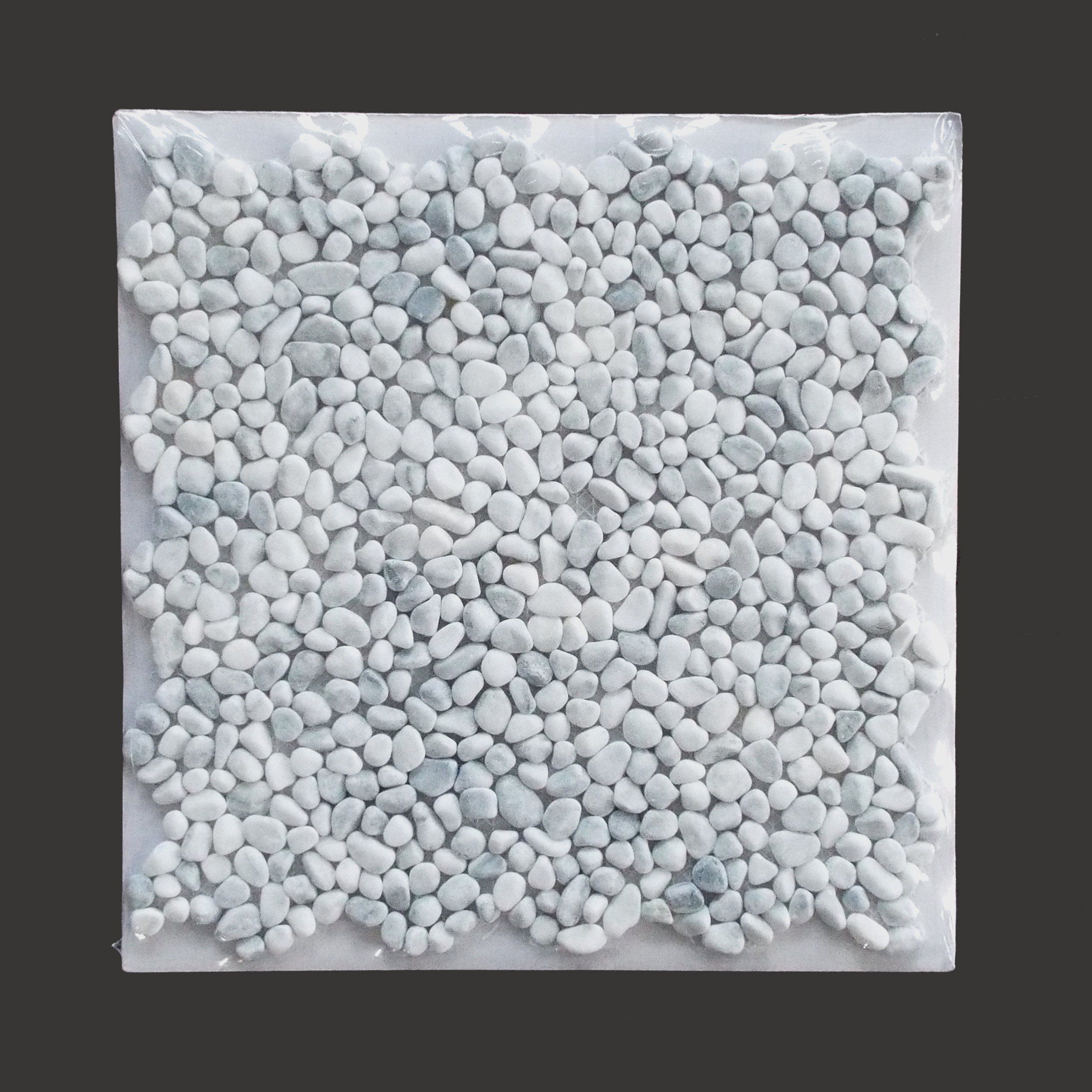 Pebblestone Mini White