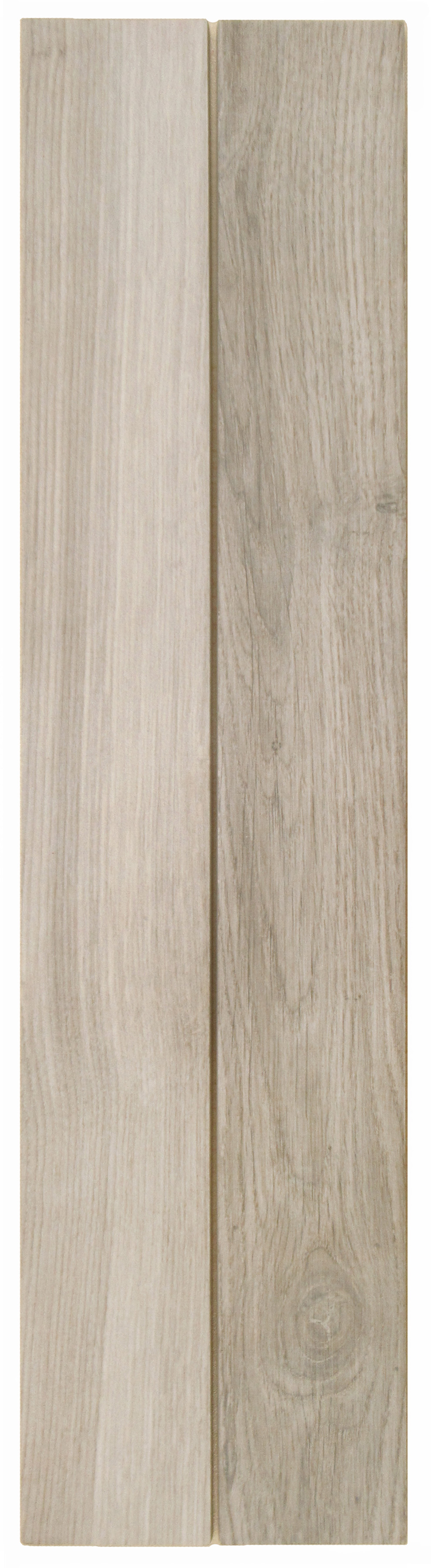 "Natural Almond -  3"" x 48"" Porcelain (2 pcs shown)"