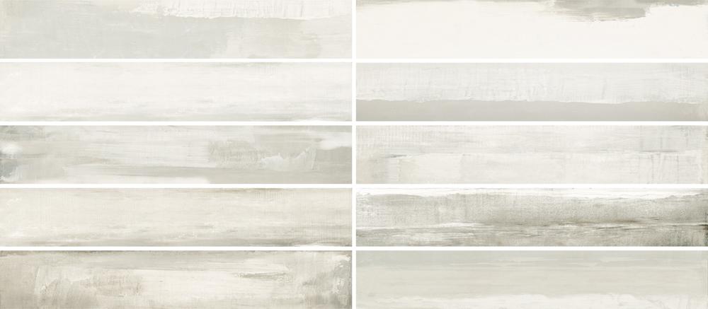 """Vetra Light - 6"""" x 36"""" Porcelain (10 pcs shown for variation)"""