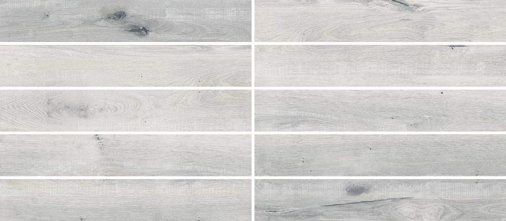 """Essence Tono - 6"""" x 36"""" Porcelain (10 pcs shown for variation)"""