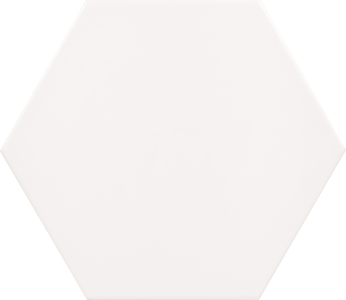 "Bianco - 10""Porcelain Hexagon"