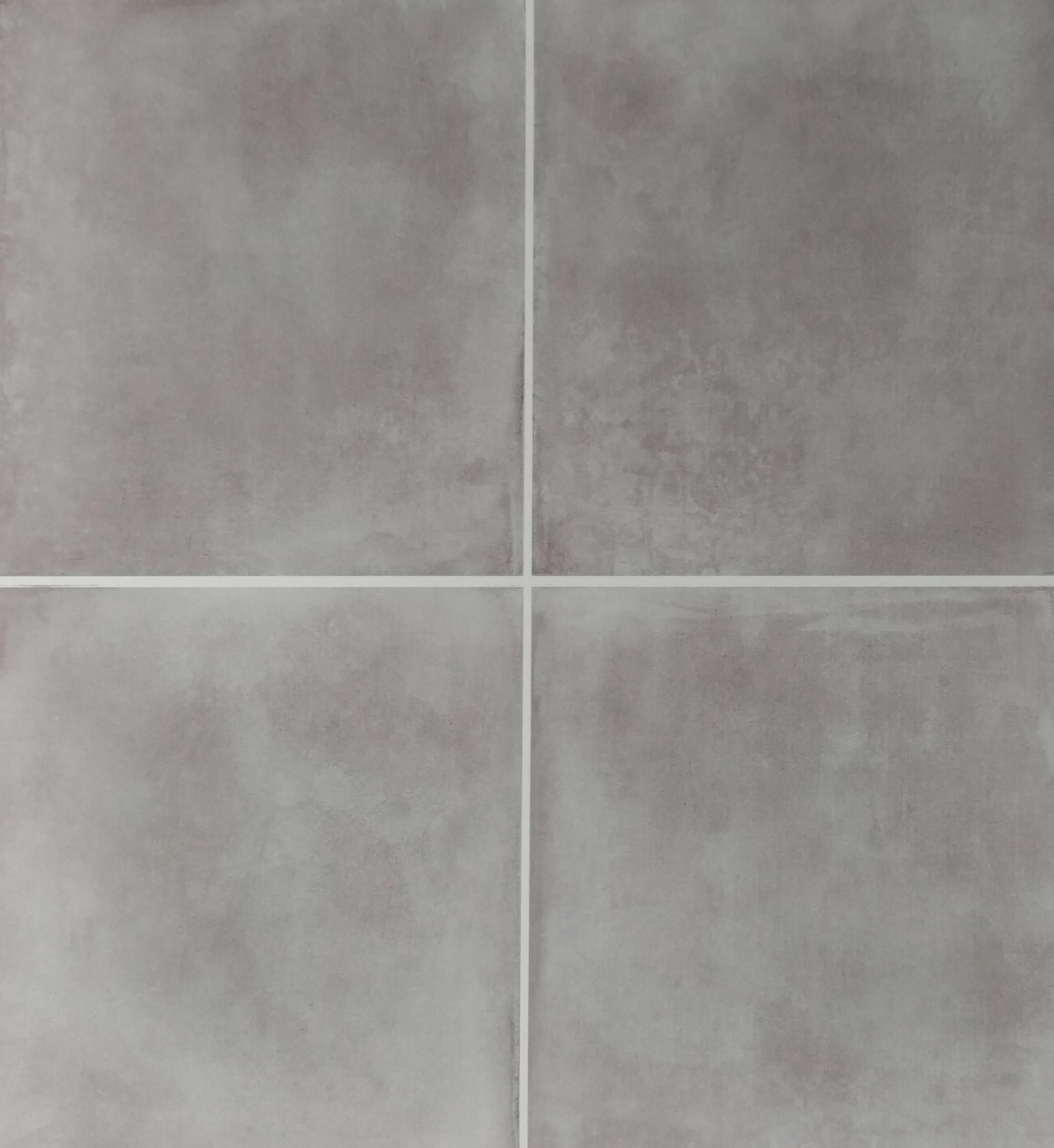 """Smoke  - 24"""" x 24"""" Porcelain [4 pieces shown]"""