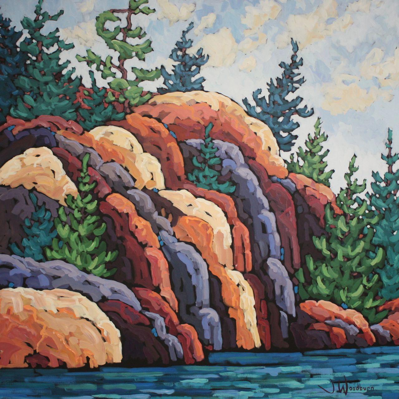 Cascading Rocks
