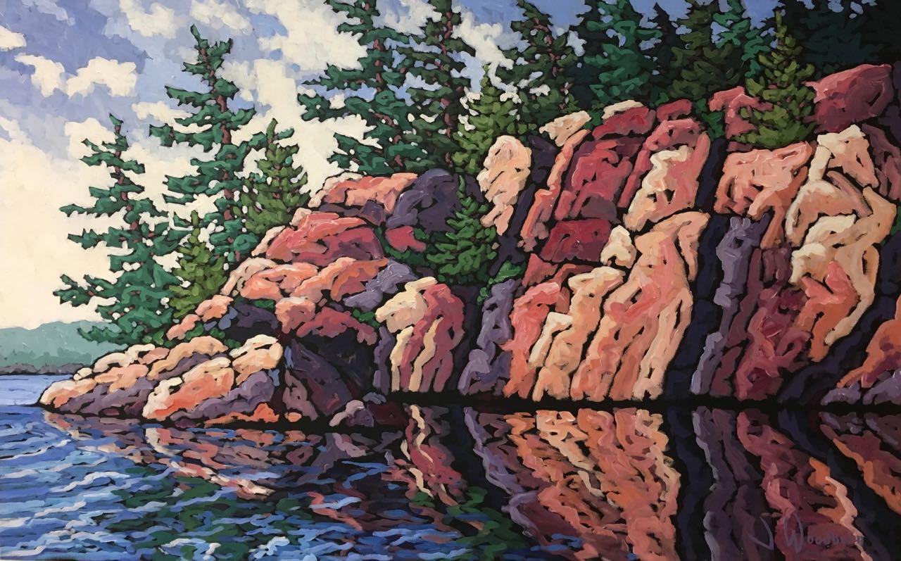 Reflected Shoreline