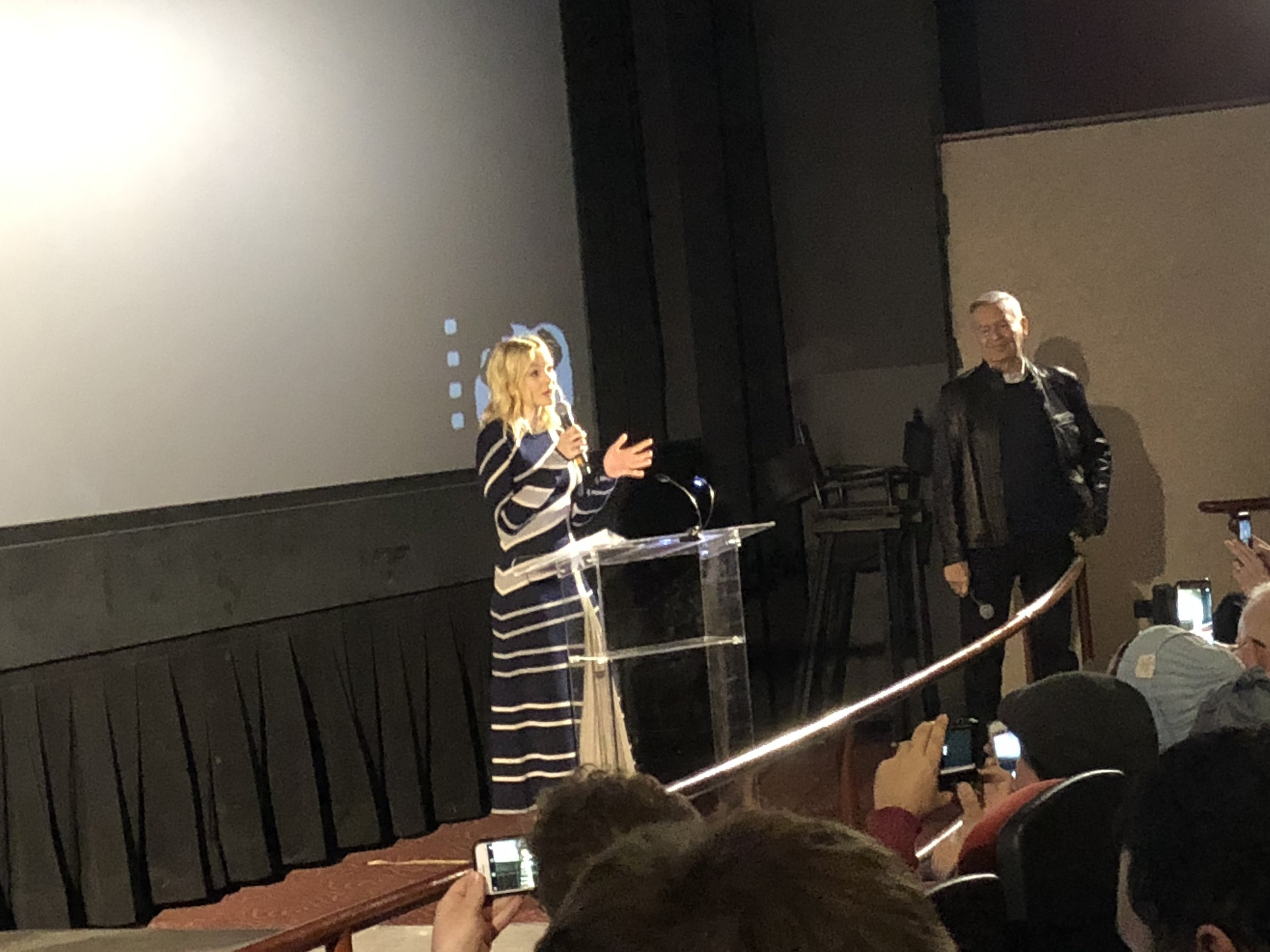 Carey Mulligan, flawless in the film  Wildlife  makes a memorable appearance at CIFF 2018.