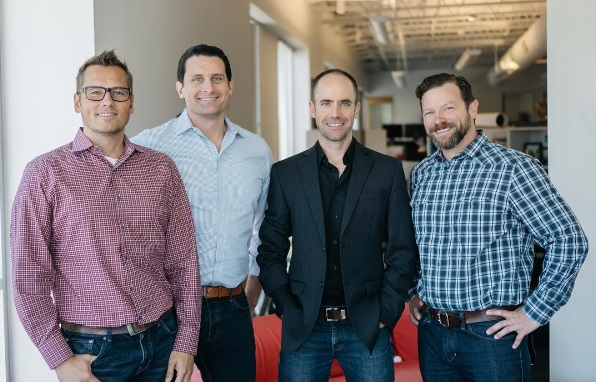 Peter Eckert, Michael Blakesley, Dennis Van Huffel and Paul Tidwell