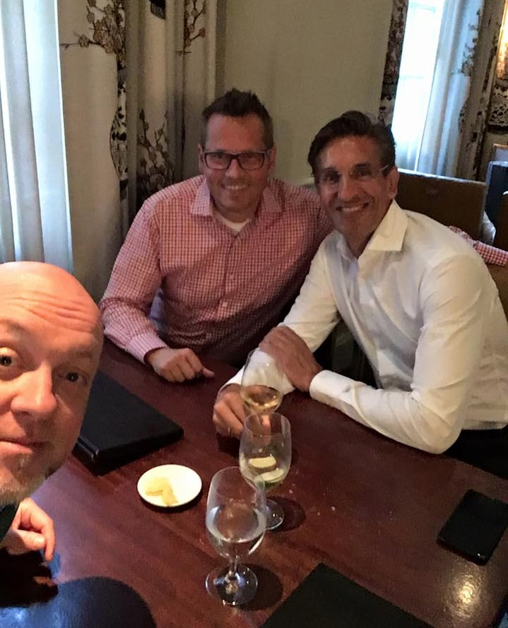 Unit4 Global Head of Pre-Sales and Product Strategist Thomas Staven, projekt202 CXO Peter Eckert and Unit4 Chief Evangelist Ton Dobbe