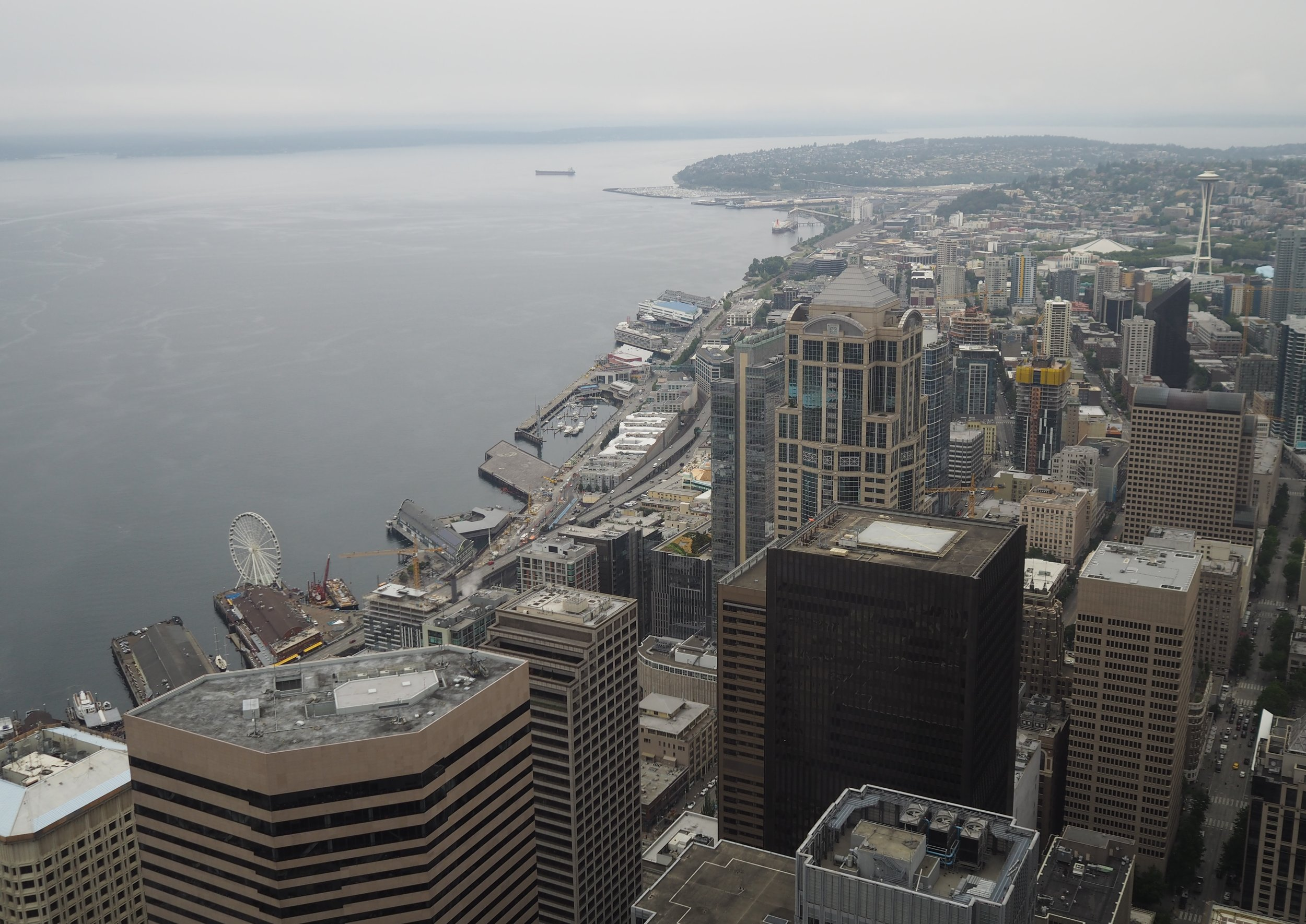 """Like this view, our media partners are impressive, too. projekt202 sincerely thanks Code Fellows, Creative Mornings Seattle, Ladies that UX Seattle, Puget Sound SIGCHI and the Washington Technology Industry Association for their support of the """"Designing Software for People"""" event."""