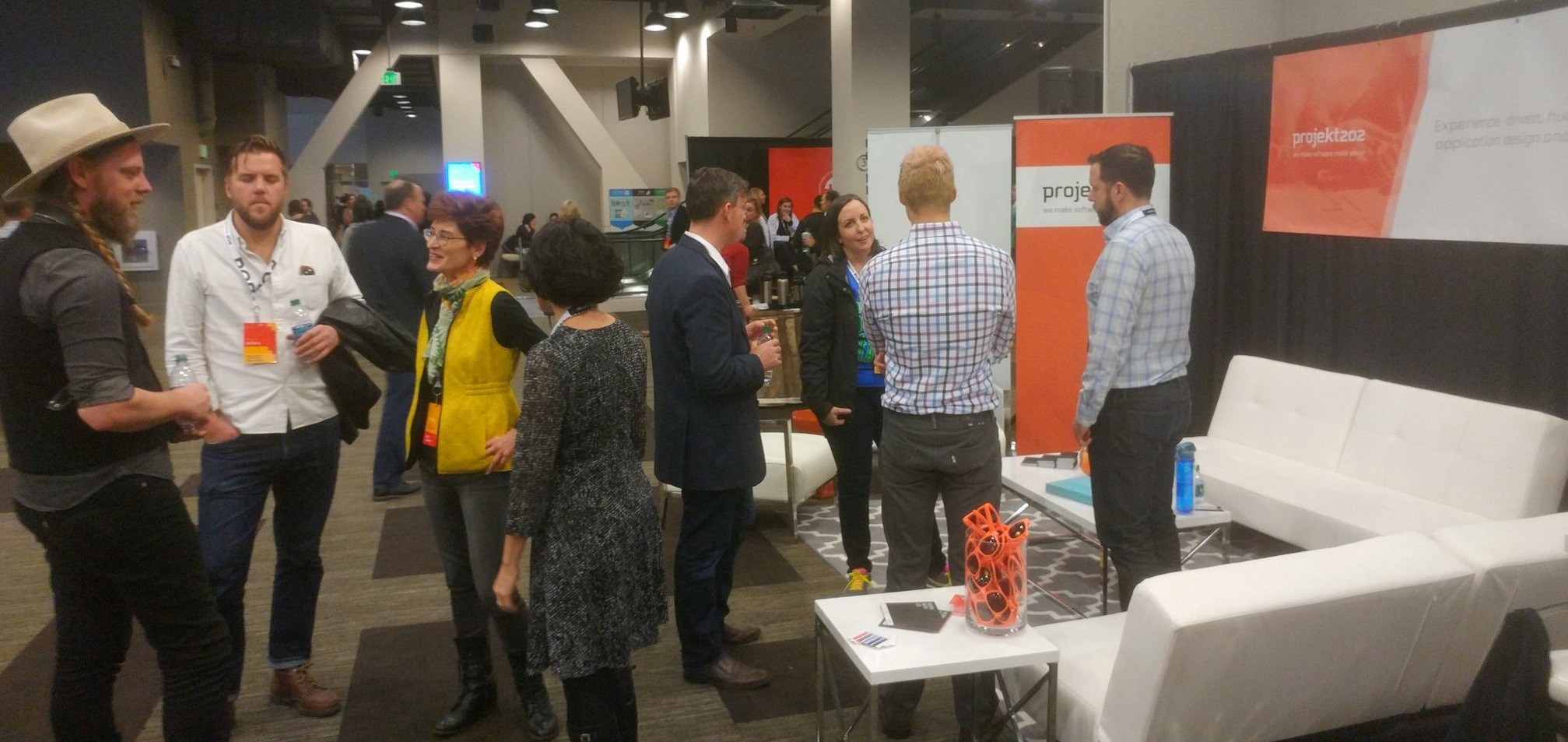 projekt202's business lounge was the place to be at Seattle Interactive.