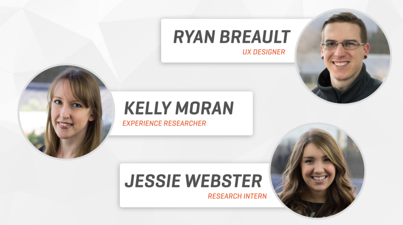 On the case: The projekt202 team of Kelly, Jessie and Ryan drove this client initiative.