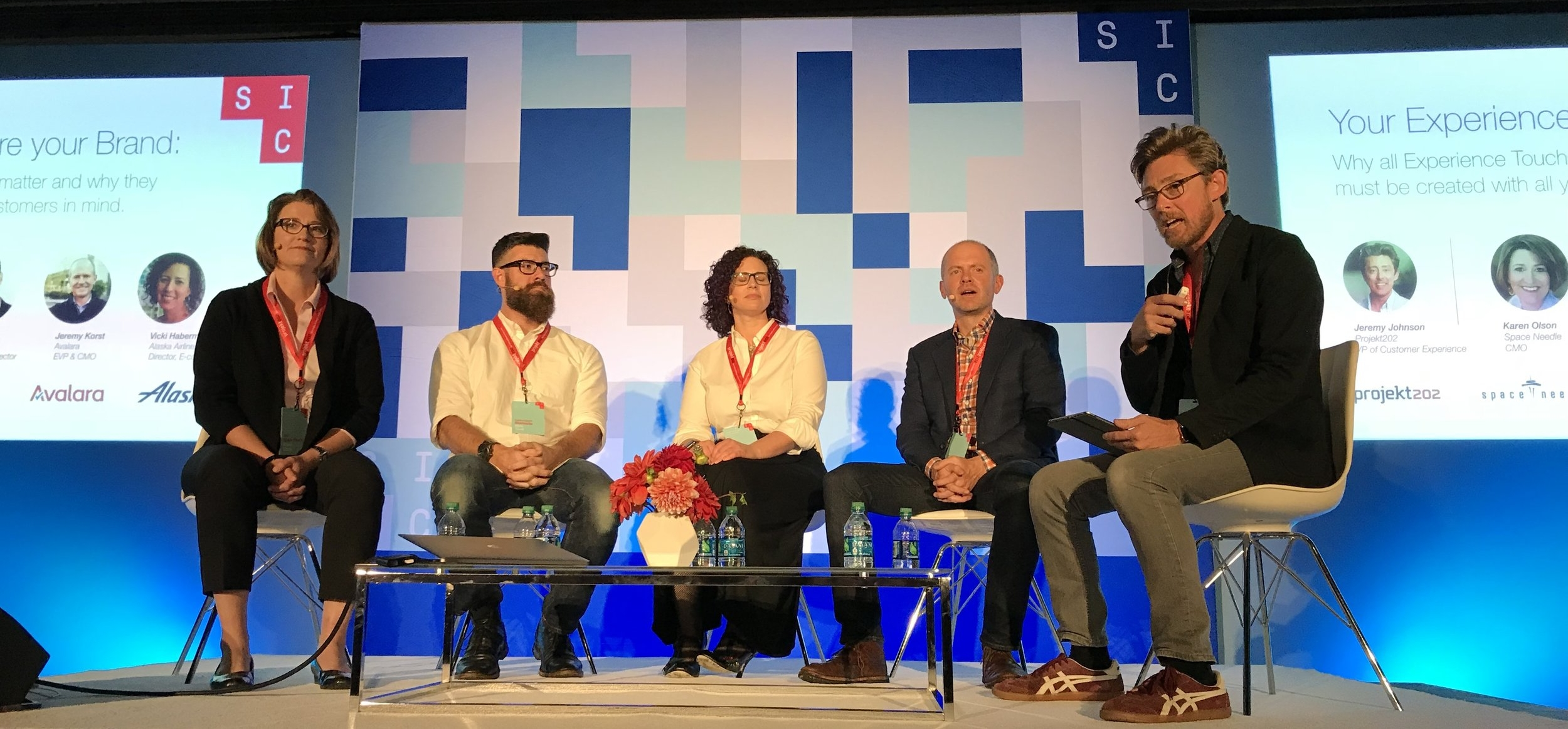 Jeremy hosted a well-attended expert panel at the 2017 Seattle Interactive Conference. His 2018 CX panel is sure to be another popular standing-room-only session.