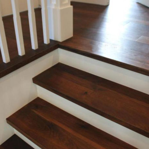 Hardwood Flooring: Stair Treads Product by Artistry Hardwood Flooring