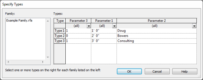 Create Type Catalog from Existing Revit Family | Design