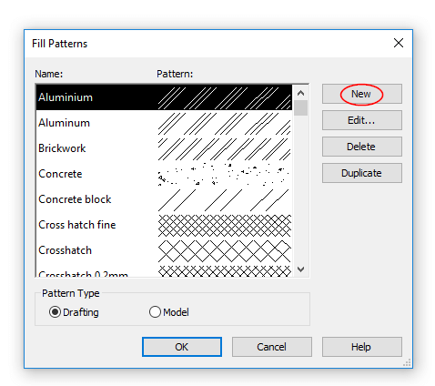 Custom Revit Hatch Patterns | Design Ideas for the Built World