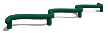 S-Shaped Jump Bar by Greenfields Outdoor Fitness