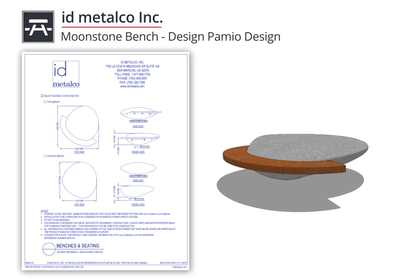4894-016 Moonstone Bench