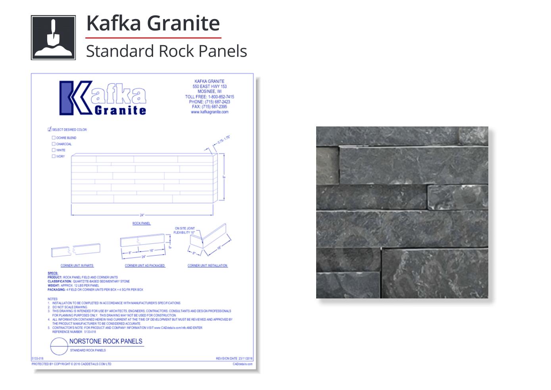 5133-018 Standard Rock Panels
