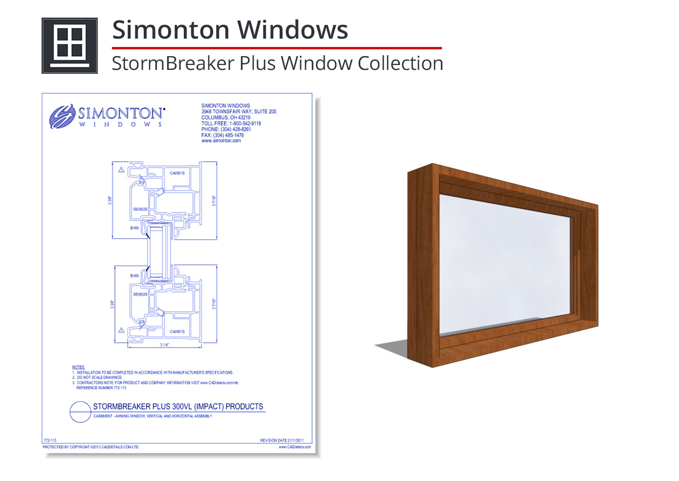 772-115 StormBreaker Plus Window Collection