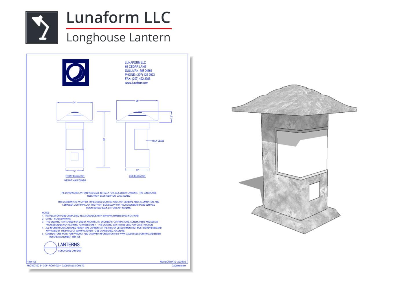 4864-105 Longhouse Lantern