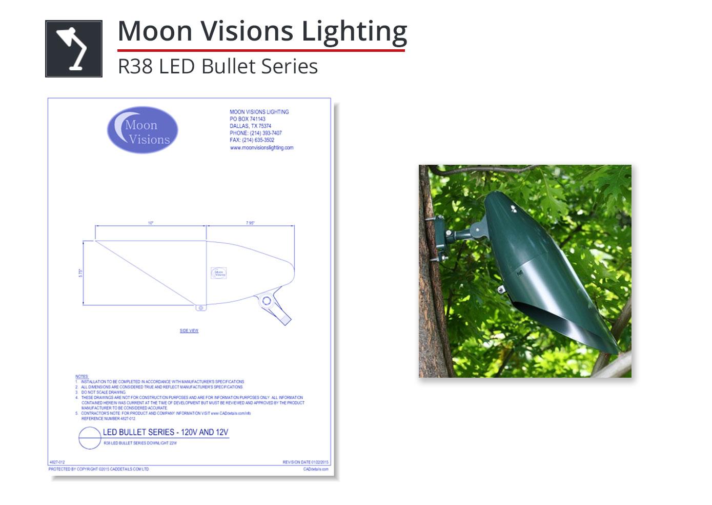 4827-012 R38 LED Bullet Series