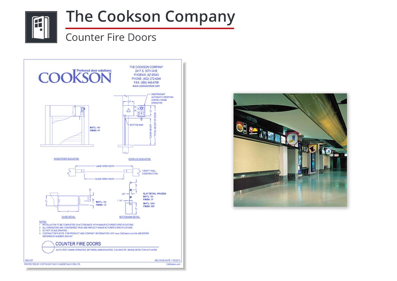 3893-057 Counter Fire Doors