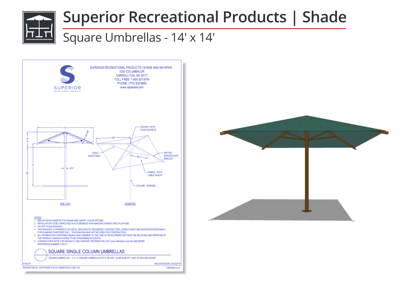 Superior-Recreational-Products-Square-Umbrellas-CAD-Drawing.png