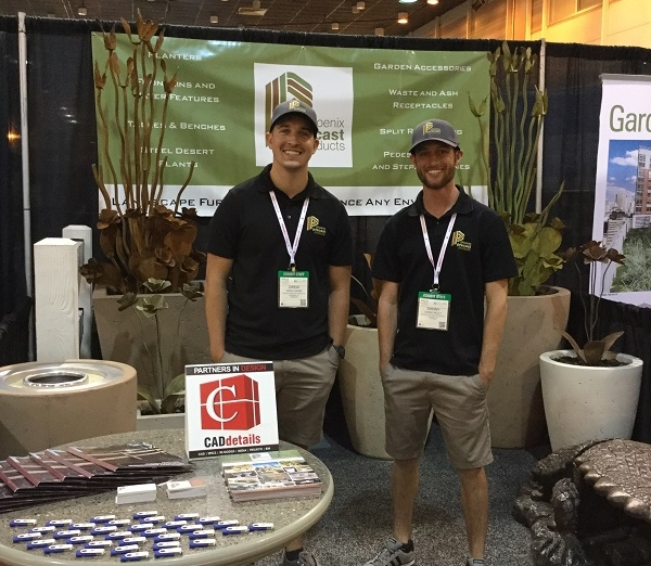 Don't be shy! Meet us at the show like  Phoenix Precast Products  did!