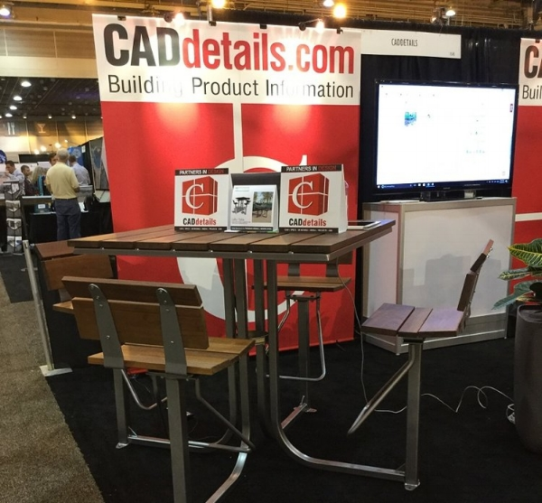 CADdetails Booth, ASLA 2016, New Orleans