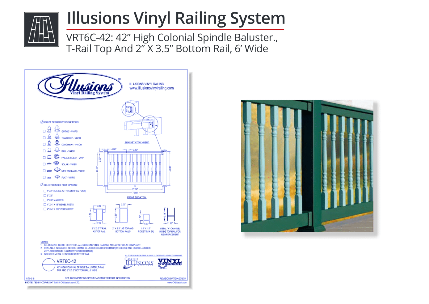 Illusions-Vinyl-Railing-System-High-Colonial-Spindle-Baluster-CADdrawing (2).png