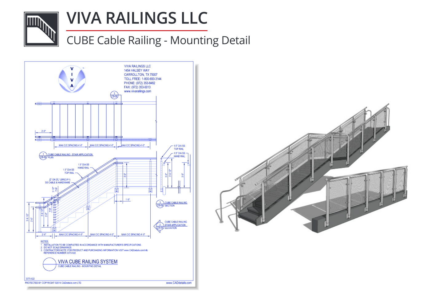 15+ CAD Drawings of Railings for your Residential or