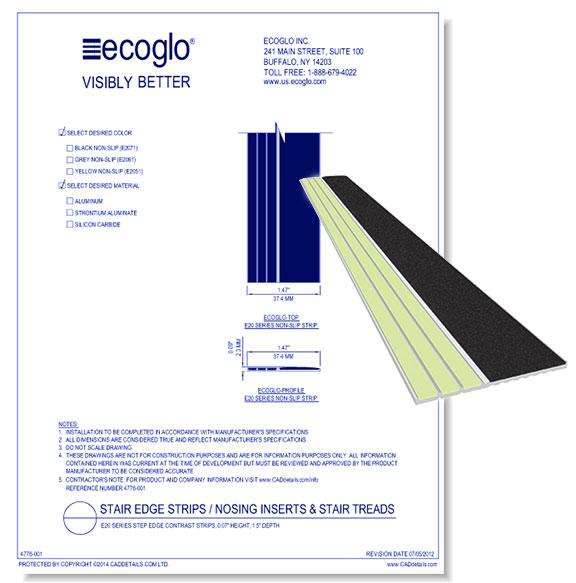 E40 Series Step Edge Contrast Strips