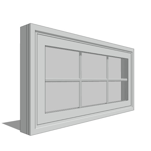 Impervia Series - Double-Hung Window