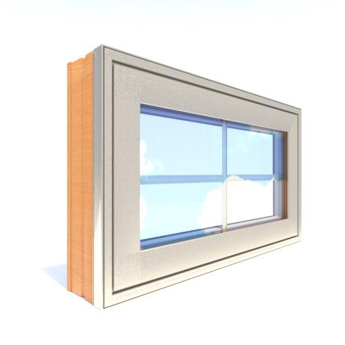 Designer Series Clad Casement Window