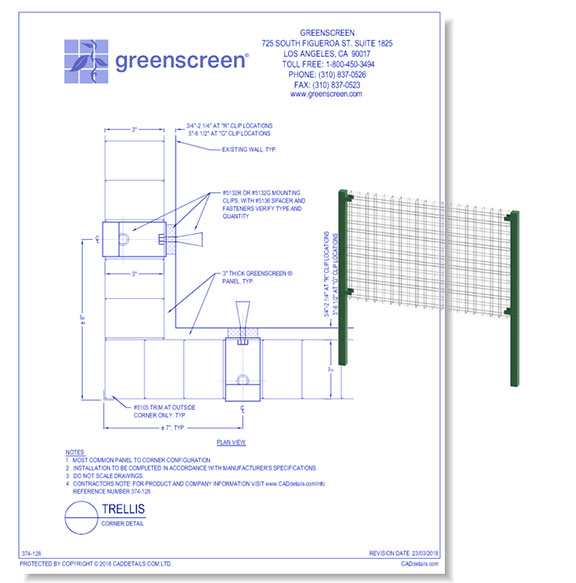 20+ CAD Drawings of Wall Panels and Accessories For Your