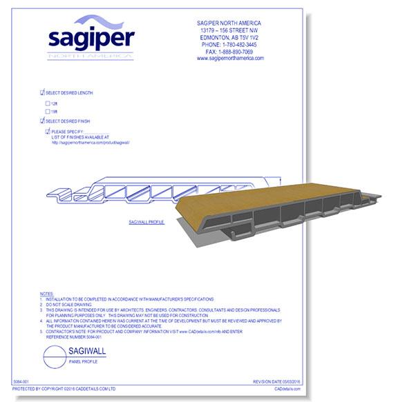 "Sagiwall: 6"" Channel Profile"