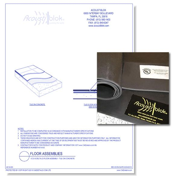 Acoustiblok Sound Proofing Material