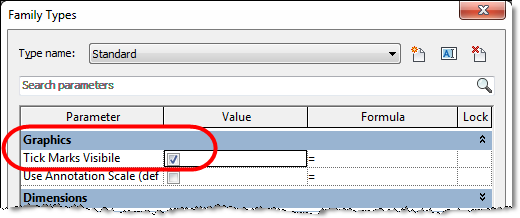Control Visibility of Plumbing Fitting Tick Marks in Revit