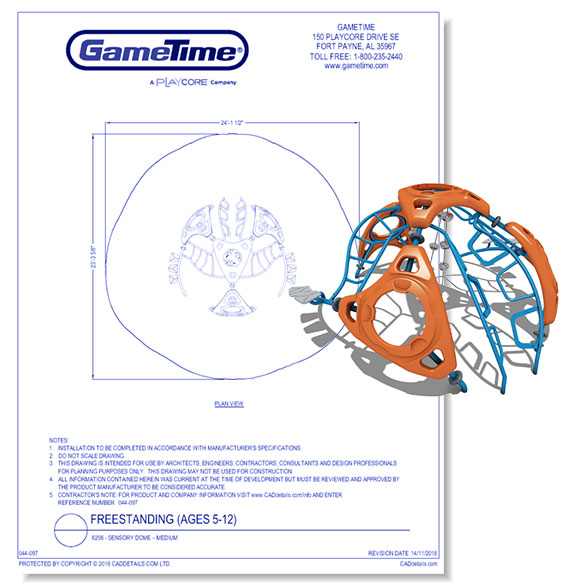 Sensory Dome Medium