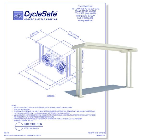 Pocket Bike Shelter