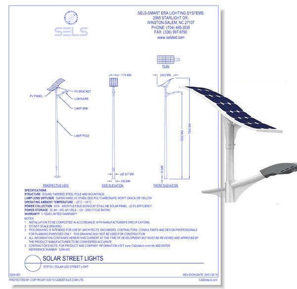 ST9730 | Solar LED Street Light