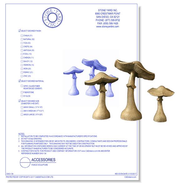 Fungo Sculpture