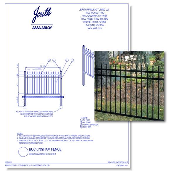 Buckingham Fences
