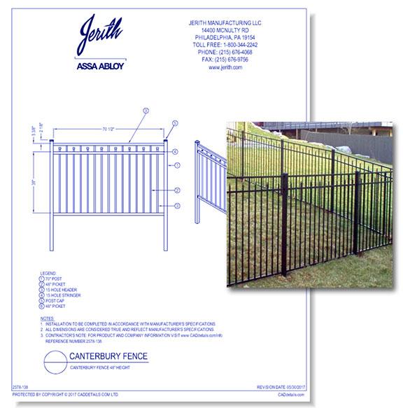 Canterbury Fences