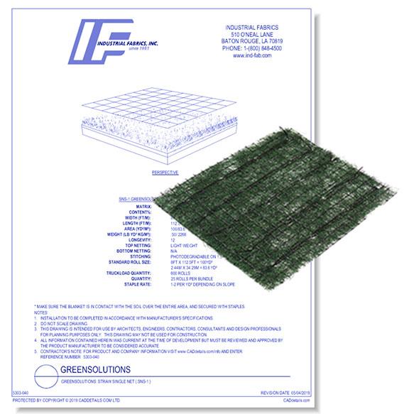 Green Solutions - 50 Turf Reinforcement Mat