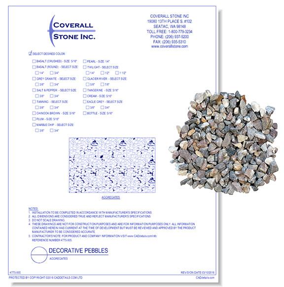 Decorative Pebbles: Aggregates