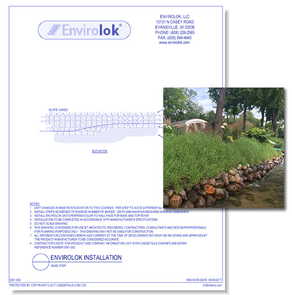 Envirolok Shoreline: Stabilization System