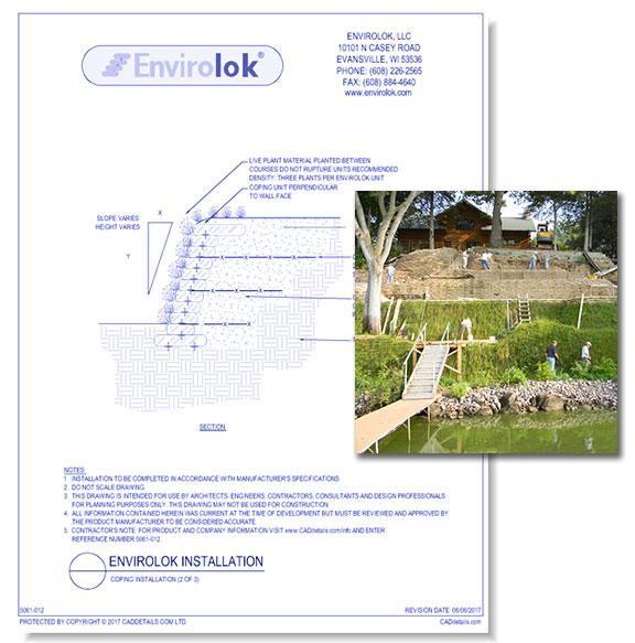 Envirolok Retaining Wall: Slope Stabilization System
