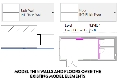 11 Tips to Create Interior Finishes in Revit | Design Ideas for the