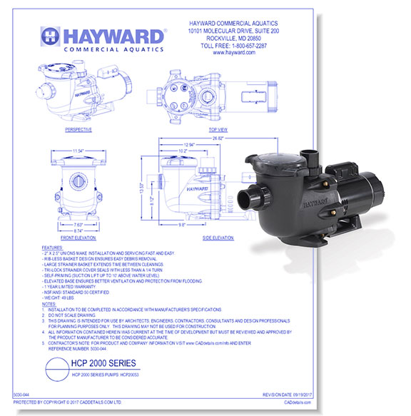 HCP 2000 Series Pump