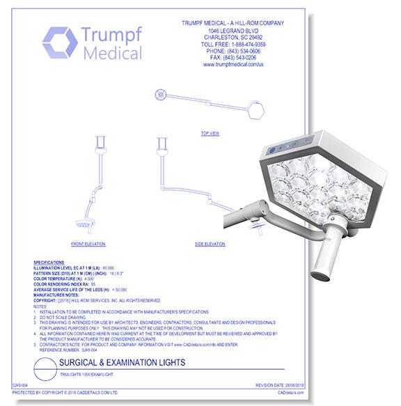 TruLight 1000 Exam Light